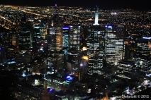 Night on the best city of the world