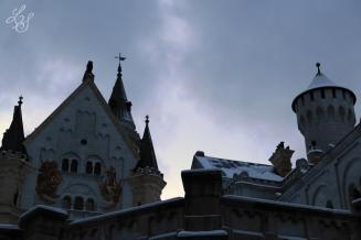 The castle, the beauty and the beast