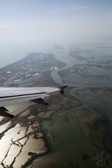Flying away..